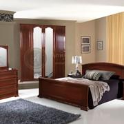 Деревянная спальня Алина 10 фото