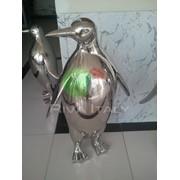 Скульптура Пингвин фото