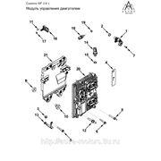 Электронный блок (модуль) управления ЭБУ двигателем Cummins ISF 2.8 5258889 схема устройство