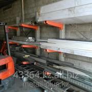 Стеллажи для склада - консольные фото