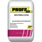 Шпатлёвка Серая Proff Mix фото