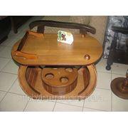 Виготовлення дерев'яних столів і стільців від виробника на заказ