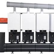 Четырёхкотловая установка в ряд Vitodens 200-W 4 по 45 кВт Vitotronic 100/300-K B2HA892 фото
