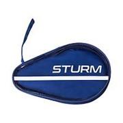 Чехол для ракетки для настольного тенниса CS-02, для одной ракетки, синий Sturm фото