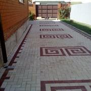 Тротуарная плитка Прямоугольник фото