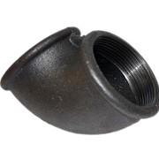 Угольник чугунный переходной 25x15 ГОСТ 8947-75, оцинкованный фото