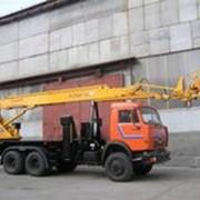Автогидроподъемник АПТ-30 шасси КамАЗ-65115 фото