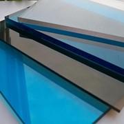 Поликарбонат листовой монолитный 5 мм фото