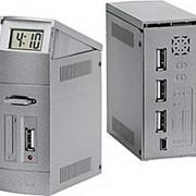 USB-разветвитель с часами фото