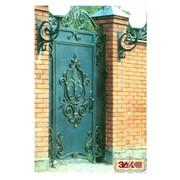 Кованые ворота недорого, в Старом Осколе,Губкине - от ЗДК фото