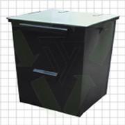 Мусорные баки уличные, контейнер для мусора 0,75 куб.м, фото