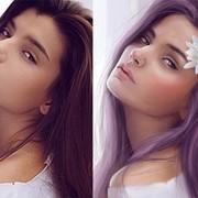 Оригинальные портреты в стиле Digital Art (Цифровая живопись) фото