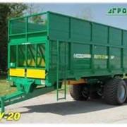 Машина для внесения твердых органических удобрений МТУ-20 фото