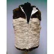 Пошив изделий из меха на вязаной основе (вязание мехом) фото
