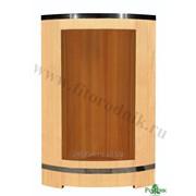 Деревянная душевая кабина из кедра фото