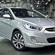 Ветровик Hyundai Solaris Седан фото