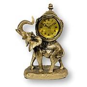Статуэтка с часами Слон 33*22 фото