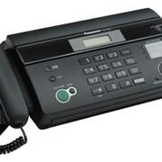 KX-FT982CA-B Panasonic факсимильный аппарат на термобумаге, Чёрный