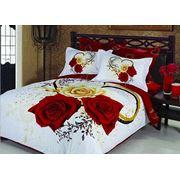 Свадебное постельное белье из сатина