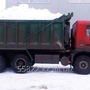 Услуга вывоза снега