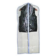 Чехол для одежды 60*137 см ПВХ прозрачный фото