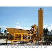 Бетонный завод HZS50 фото