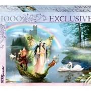 Пазлы глиттер коллекция 1000 Glitter Волшебное озеро фото