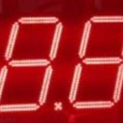 Светодиодный ценник, встраиваемый в стелу АЗС фото