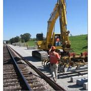 Строительство и ремонт железных дорог к угольным месторождениям. фото