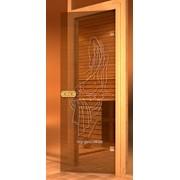 Дверь Арт серия с гравировкой Нимфа фото