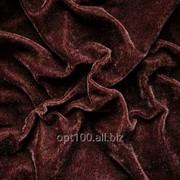 Велюр стрейч цвет коричневый В 25 фото