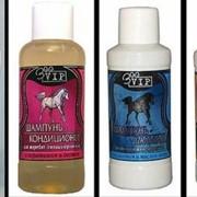 Шампунь ZOOVIP для гривы и хвоста с коллагеном и ланолином шампунь для лошадей фото