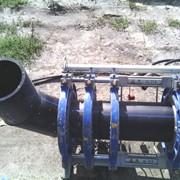 Сварка полиэтиленовых труб фото