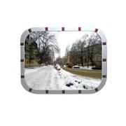 Уличное зеркало безопасности,прямоугольное 600х800 фото