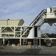 Мобильный бетонный завод производительностью 25м3 фото