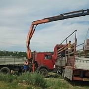 Аренда гидроманипулятора в Харькове
