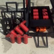 Станок для производства строительного блока шлакоблока с дополнительными пустотами фото