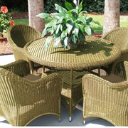 Кресла плетеные фото
