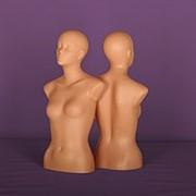 Торс женский с головой телесный фото