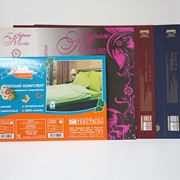 Упаковка для постельных принадлежностей фото