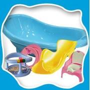 Крышка-сиденье для унитаза пластм. с картинкой /10 (лилия) фото