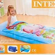 I66802 Матрац-кровать детский с покрывалом на молнии 64*157*20 см (Intex) фото