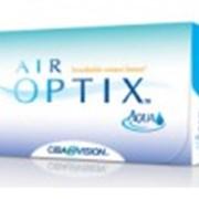 Контактные силикон-гидрогелевые линзы Ciba Vision Air Optix Aqua UV акция 2+1!8.6 фото