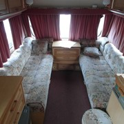 Прицеп-дача. Кемпер Swift Challenger 470SE, 1996 год, 3 спальных места фото