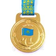 Медаль рельефная за 1-е место золото фото
