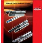 Монолитная концевая твердосплавная фреза - серия AFG - для обработки нелегированных и легированных сталей, титана, нержавеющих сталей твердостью до 50 HRC фото