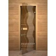 Дверь Арт серия с рисунком ГлассДжет Ручей фото