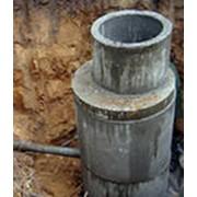 Септики из бетонных колец фото