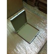 Коробка для осетинского пирога 280x280x70 мм БЕЛЫЙ фото