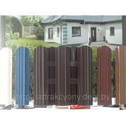Заборы, водосточка, турбины вентиляционные, ворота, доборка фото